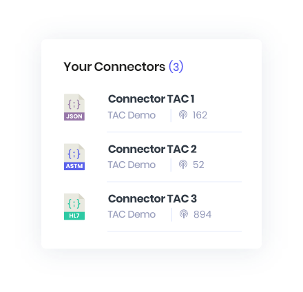 TAC Portal Connectors
